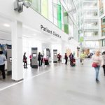 Patient Check In Centre at Southmead Hospital