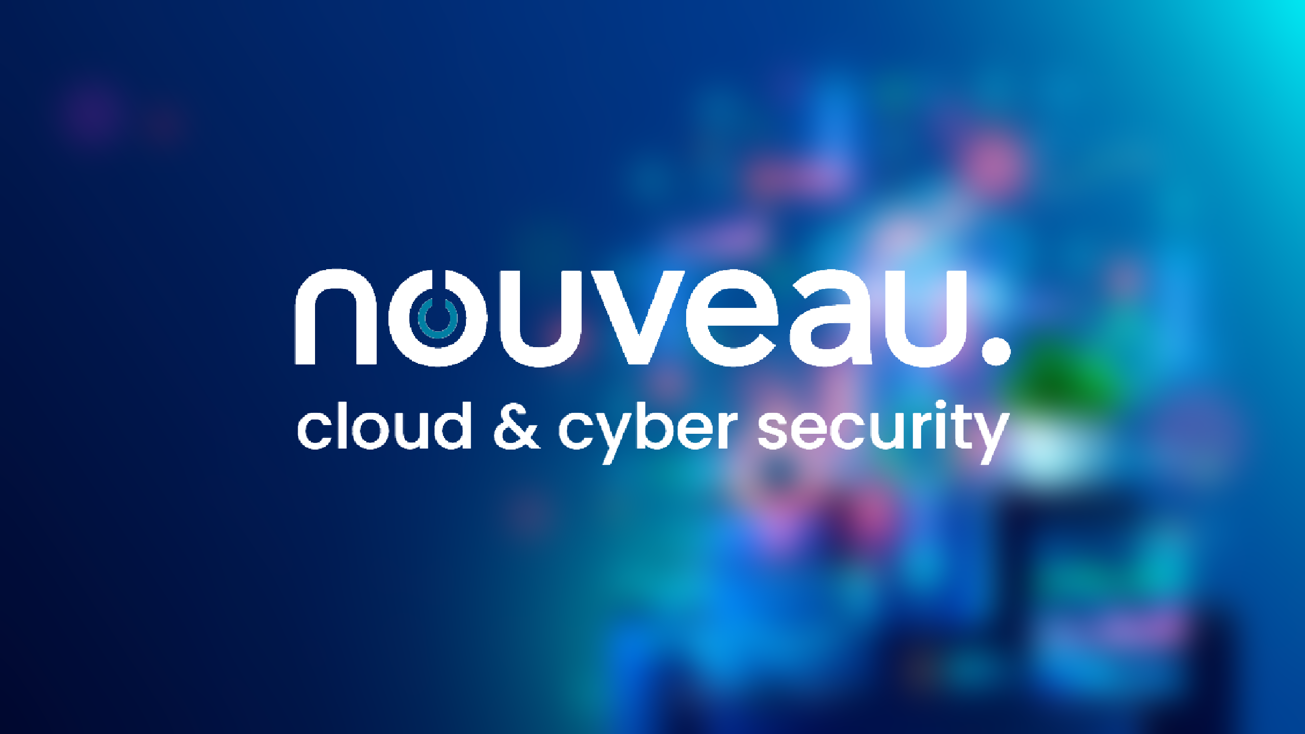 Nouveau Newsletter Cloud and Cybersecurity Background