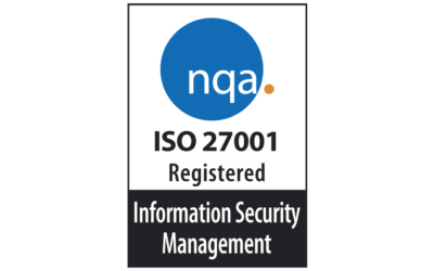 We are ISO27001 certified