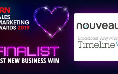 We've been shortlisted for the CRN Sales and Marketing Awards 2019!